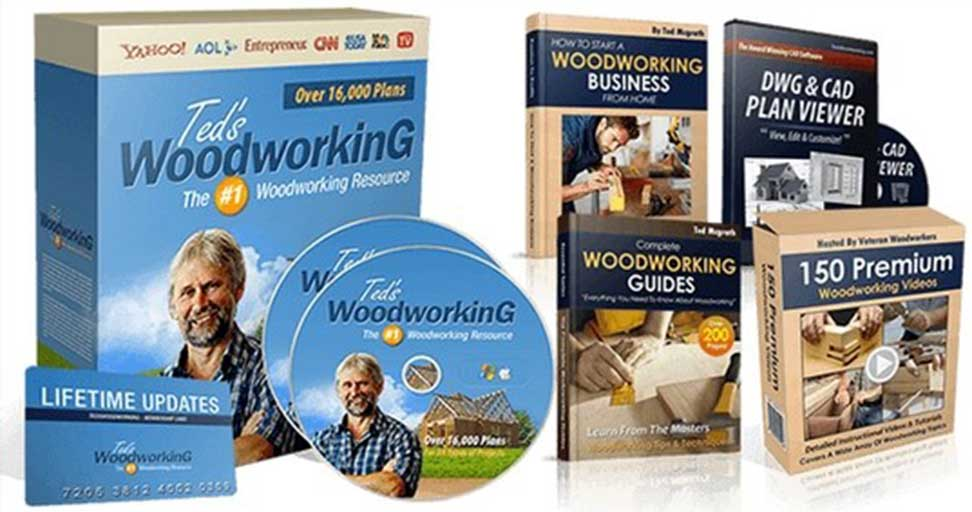 Ted's Woodworking Plans. Get Access To 16K Wood Plans, All Best Reviews