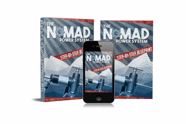 Nomad Power System Building Emergency Power Source by Hank