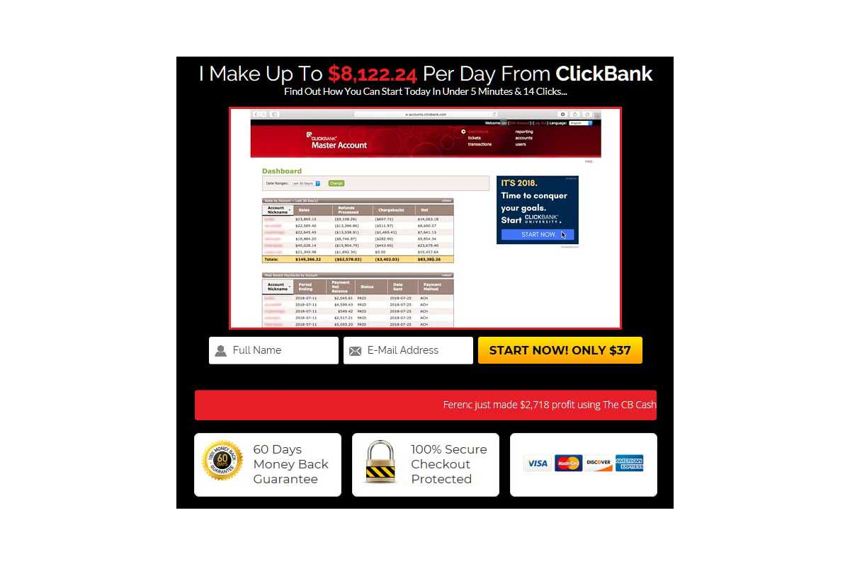 What is The ClickBank Cash Code? : The CB Cash Code Review