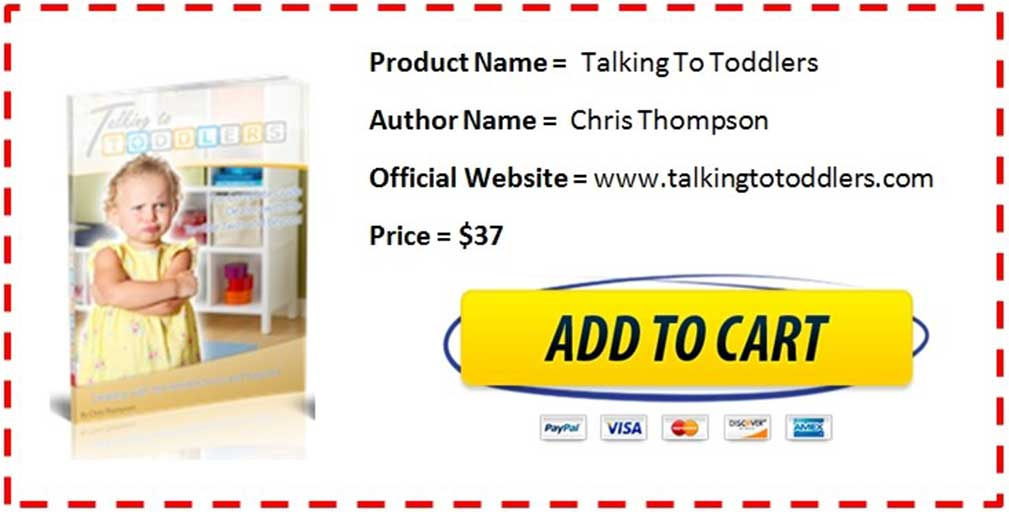 Talking To Toddlers by Chris Thompson