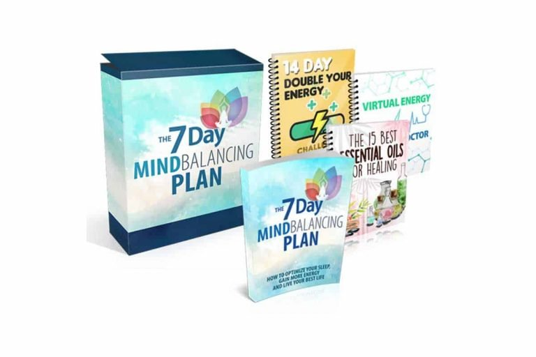 7 Day Mind Balancing Plan Optimize your Sleep Gain More Energy and Live Your Best Life