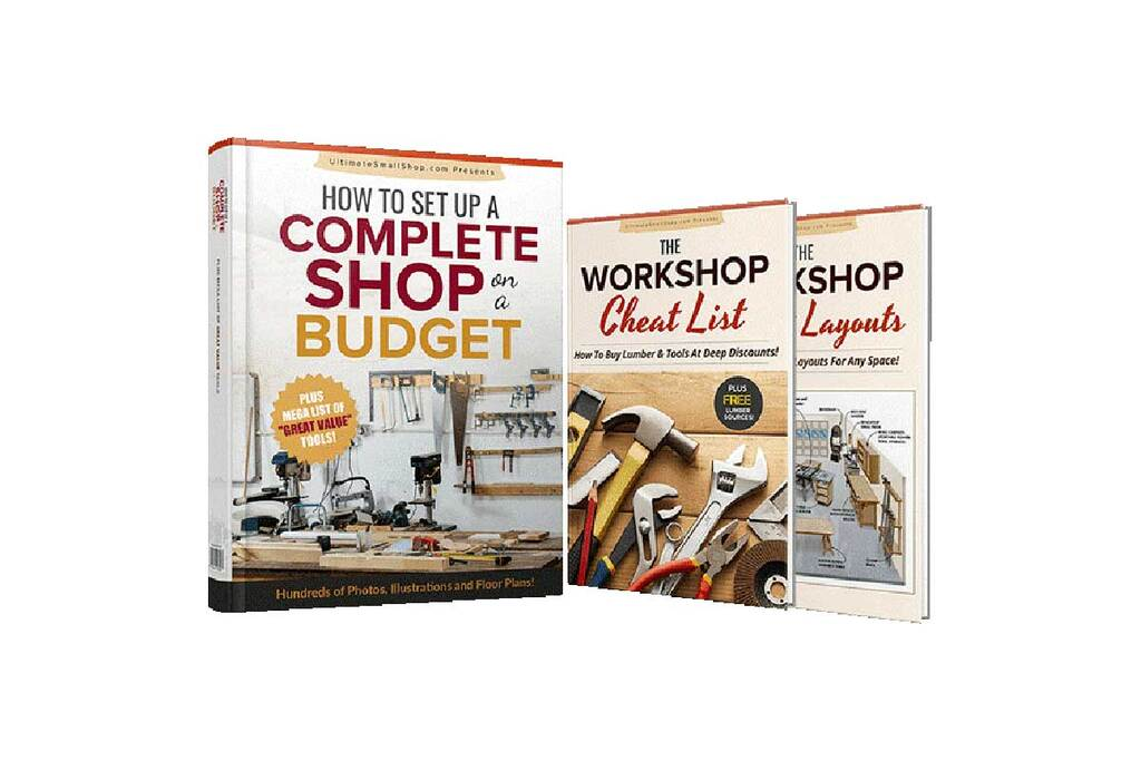 Setting Up a Small Woodworking Shop - Woodworking Workshop Guide