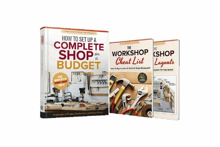 Setting Up a Small Woodworking Shop Woodworking Workshop Guide