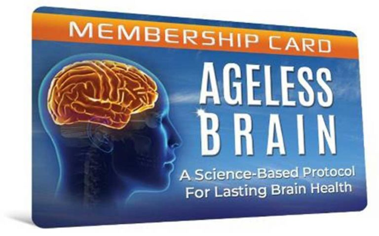 Ageless Brain Brain Health - How to reclaim an extra decade of crystal clear thinking.