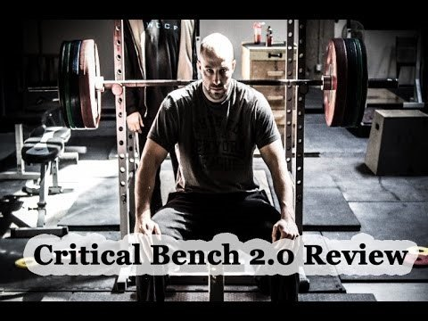 Mike Westerdal's Critical Bench 2.0 Guaranteed to Add Weight Plates, All Best Reviews