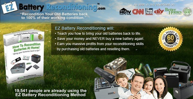 EZ Battery Reconditioning Review - How to Recondition Batteries at Home.