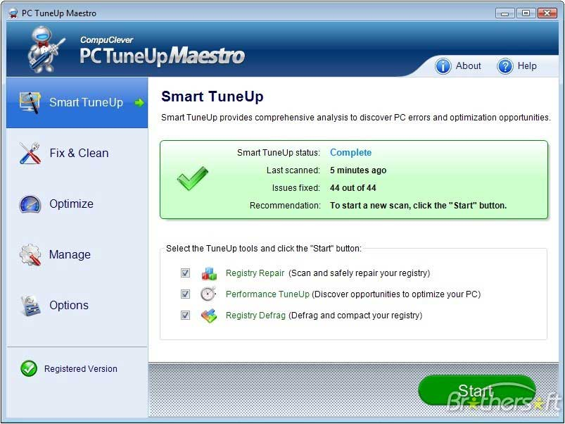 Make PC Work Better - PC Tuneup Maestro - CompuClever