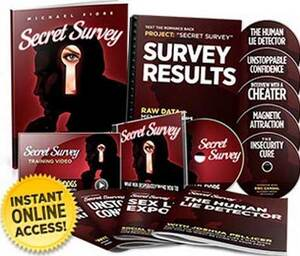 Secret Survey By Michael Fiore Secret Survey Review: A Woman Shares Her Experience and Results!