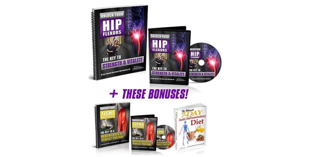 Unlock Your Hip Flexors 2.0 – The Key to Strength and Vitality by Rick Kaselj
