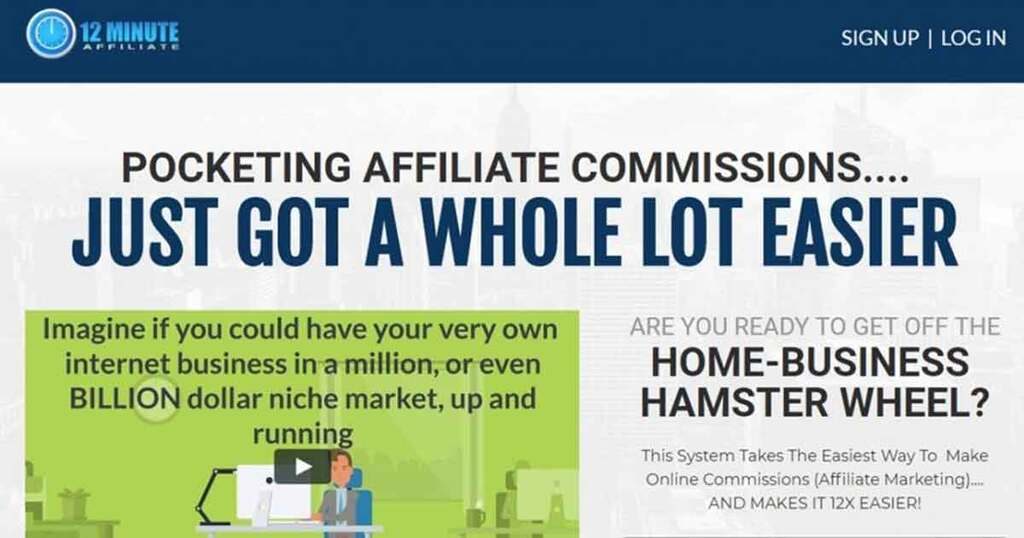 12 Minute Affiliate (With Sleep-Sales Technology) - Make Money Online