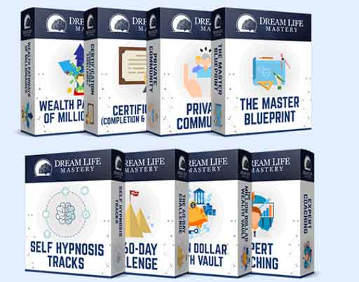 Dream Life Mastery  Free Download Dream Life Mastery Review – Unleash The Hidden Power Of Your Mind!!