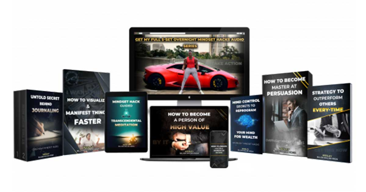Wesley Virgin Overnight Millionaire System – Online Millionaire Mastery Review ; Mind Hacks