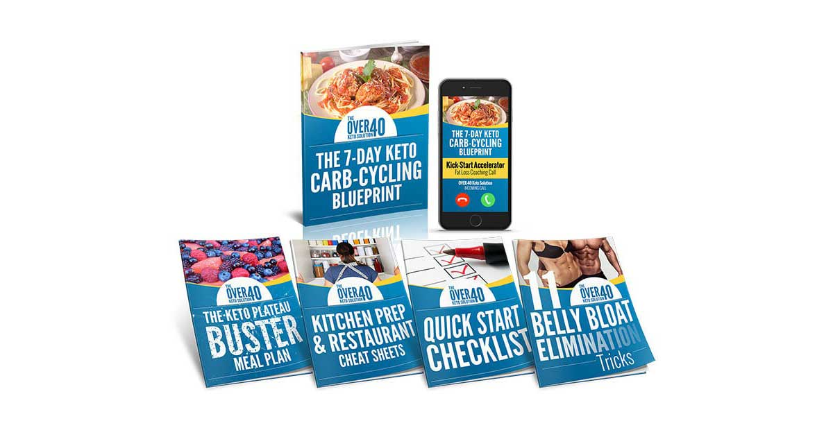 Over 40 Keto Solution Review – Worthy or Scam? Read Before You Buy!