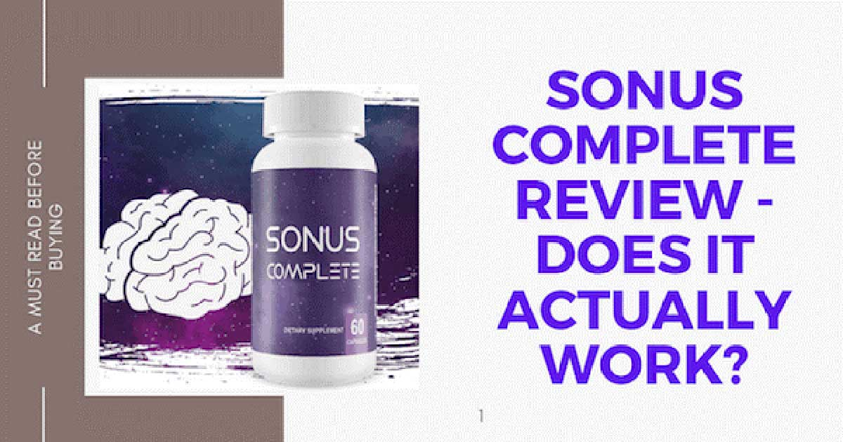 Sonus Complete Reviews discuss how it works to soothe Tinnitus, All Best Reviews
