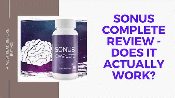 Sonus Complete Reviews discuss how it works to soothe Tinnitus