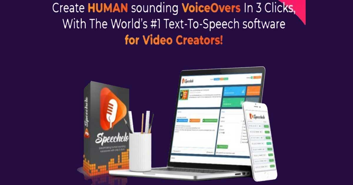 Speechelo Honest Review | No.1 Text To Human Voice Tool